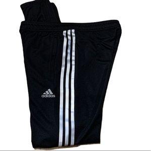 Adidas Women's 3-Stripe Trackpants Blk/Silver